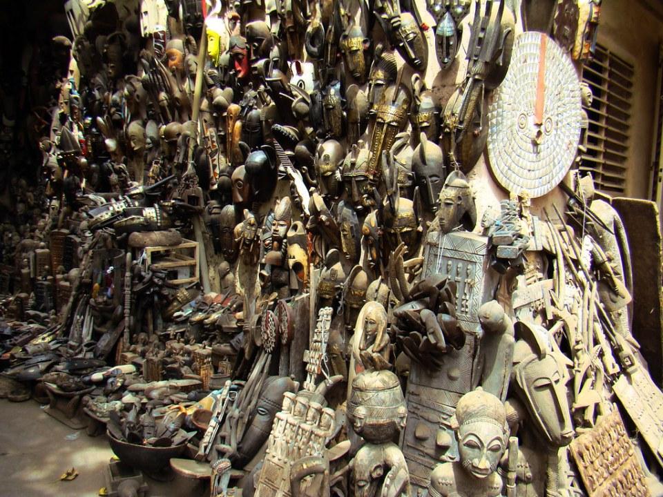 Mali Bamako decoraciones, mitos, rituales 08