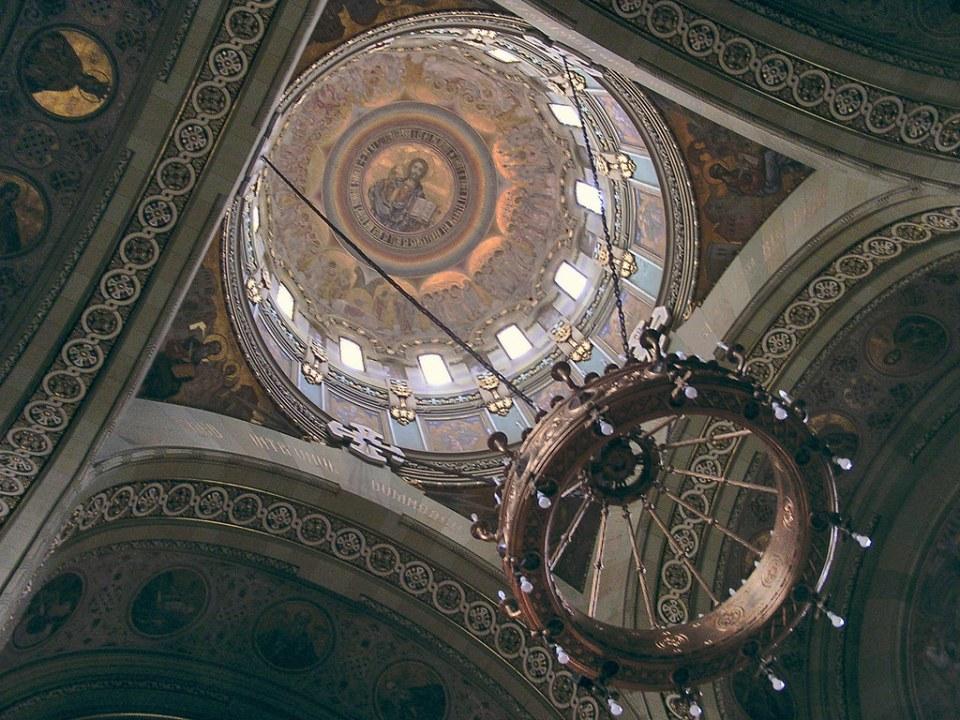 Catedral de la Reunificacion ortodoxa Alba Iulia Rumania 12