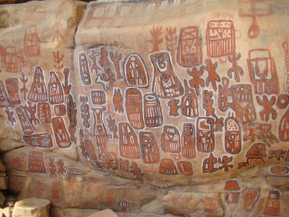 pinturas rupestres Aldea Songo Mali 10