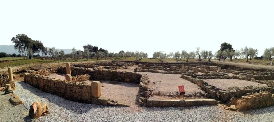 Domus viviendas ciudad romana Caparra vía de la Plata Cáceres 04
