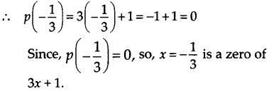 NCERT Solutions for Class 9 Maths Chapter 2 Polynomials Ex 2.2 A3