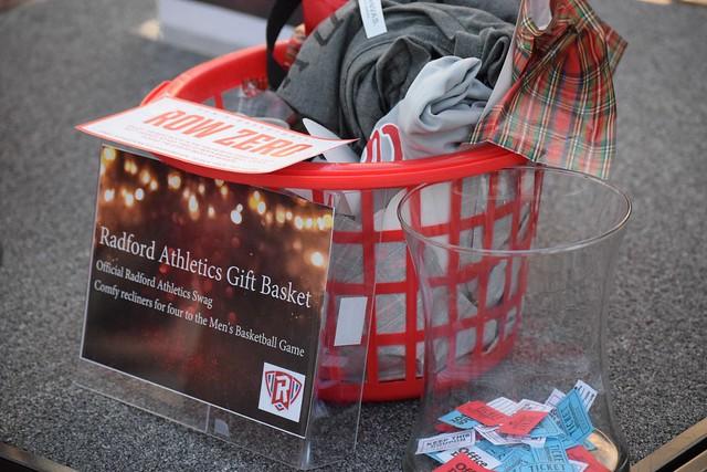Prize of Radford Athletics' Gift Basket