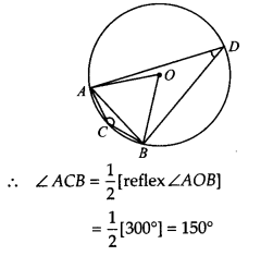NCERT Solutions for Class 9 Maths Chapter 10 Circles Ex 10.5 A2