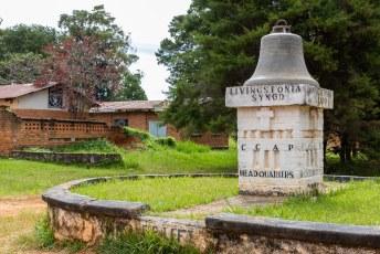 De kerk behoort tot de Synod of Livingstonia, een organisatie met 200 kerken in het noorden van Malawi.....