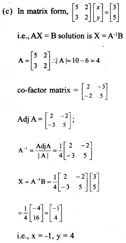Plus Two Maths Chapter Wise Previous Questions Chapter 4 Determinants 15