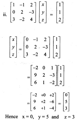 Plus Two Maths Chapter Wise Previous Questions Chapter 4 Determinants 2