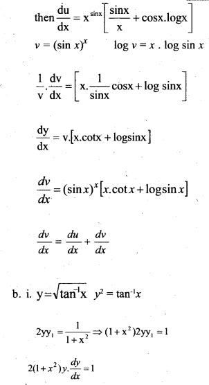 Plus Two Maths Chapter Wise Previous Questions Chapter 5 Continuity and Differentiability 38