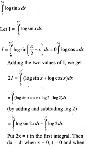 Plus Two Maths Chapter Wise Previous Questions Chapter 7 Integrals 12