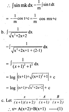 Plus Two Maths Chapter Wise Previous Questions Chapter 7 Integrals 6