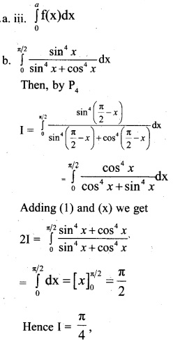 Plus Two Maths Chapter Wise Previous Questions Chapter 7 Integrals 1