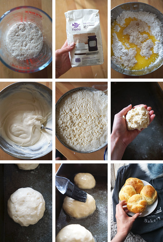 How to make gluten free brioche buns step by step | Made with Doves Farm gluten free white bread flour