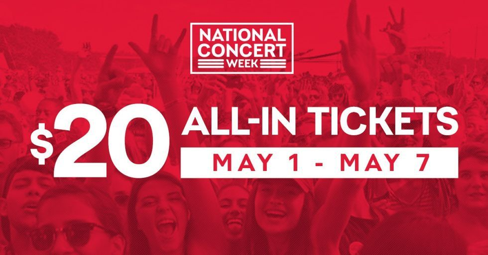 $20 Tickets to Various Winnipeg Shows to Celebrate National Concert Week