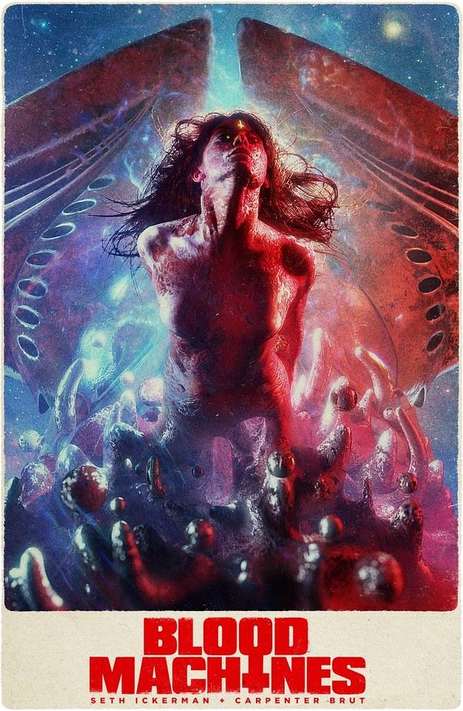 피 기계 - 포스터