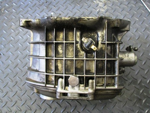 Transmission Bottom Showing Neutral Switch