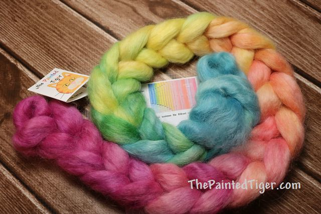 Stormbreaker Wensleydale - April 2019 Tiger Wool Fiber Club
