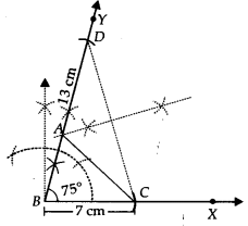 NCERT Solutions for Class 9 Maths Chapter 11 Constructions Ex 11.2 q1