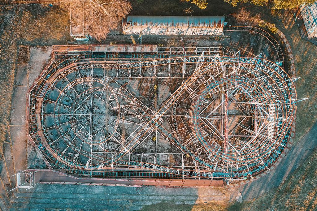 Abandoned Amusement Park | Elektrėnai, Lithaunia