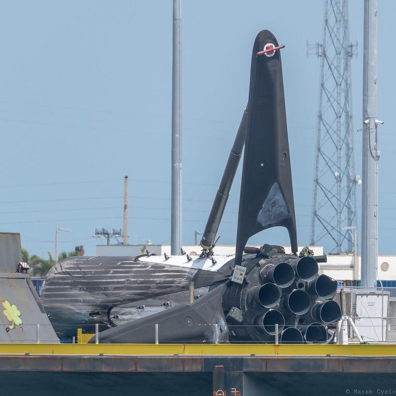 Falcon Heavy / Arabsat-6A Center Core