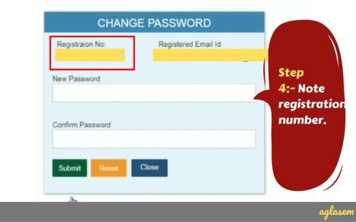 SSC JE Forgot Password