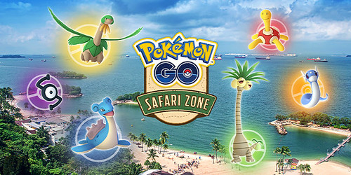 PokemonGo Safari Zone