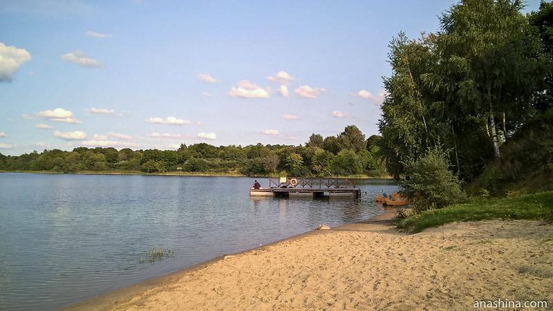 Синявинское озеро, поселок Янтарный, Калининградская область