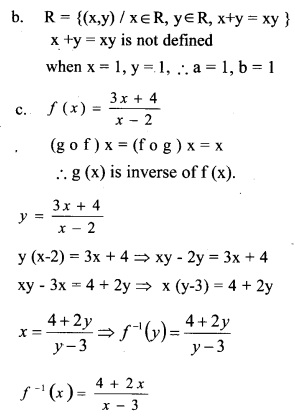 Plus Two Maths Chapter Wise Previous Questions Chapter 1 Relations and Functions 1