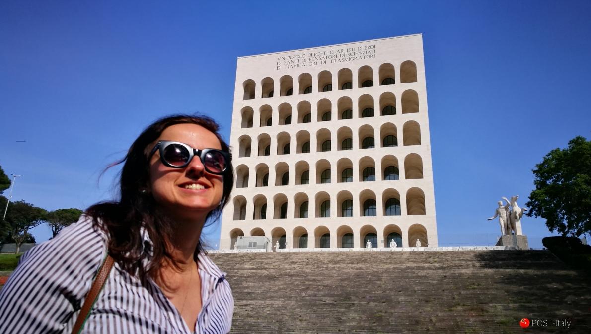Coliseu quadrado em Roma
