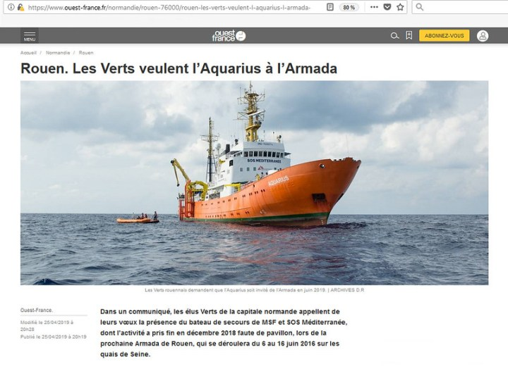 Ouest France - Aquarius