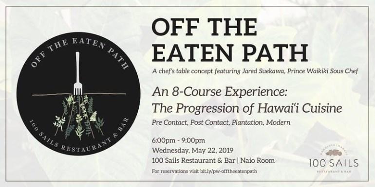 Off The Beaten Path 100 Sails Restaurant & Bar Prince Waikiki