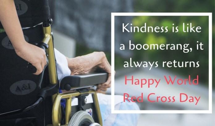 world red cross day 2019