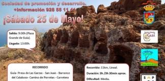 La caminata medioambiental Santa María de Guía invita a recorrer la naturaleza el municipio