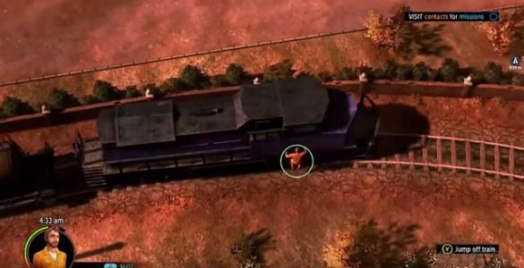 Amerikaanse voortvluchtige - trein