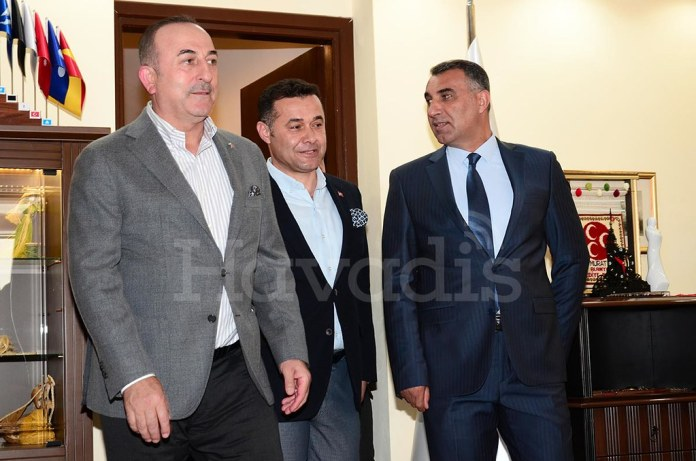 Mevlüt Çavuşoğlu, Adem Murat Yücel, Mustafa Harputlu