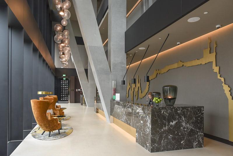 lobby of intercontinental ljubljana