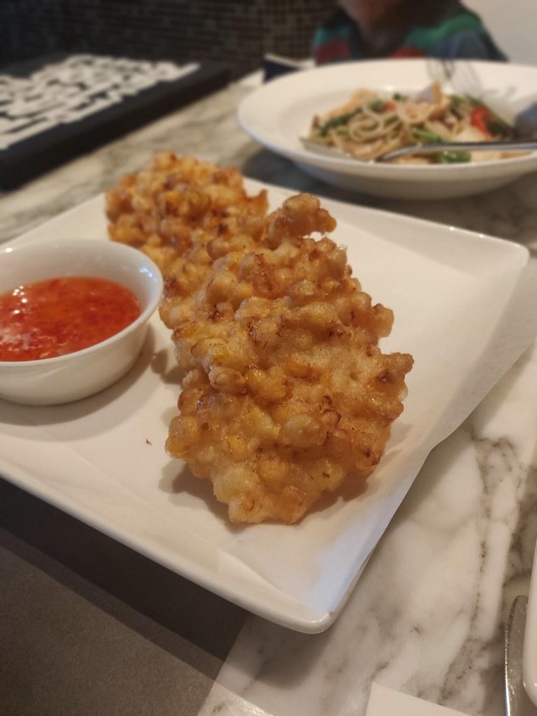 Corn Fritters Greyhound Cafe Cityplaza Taikoo