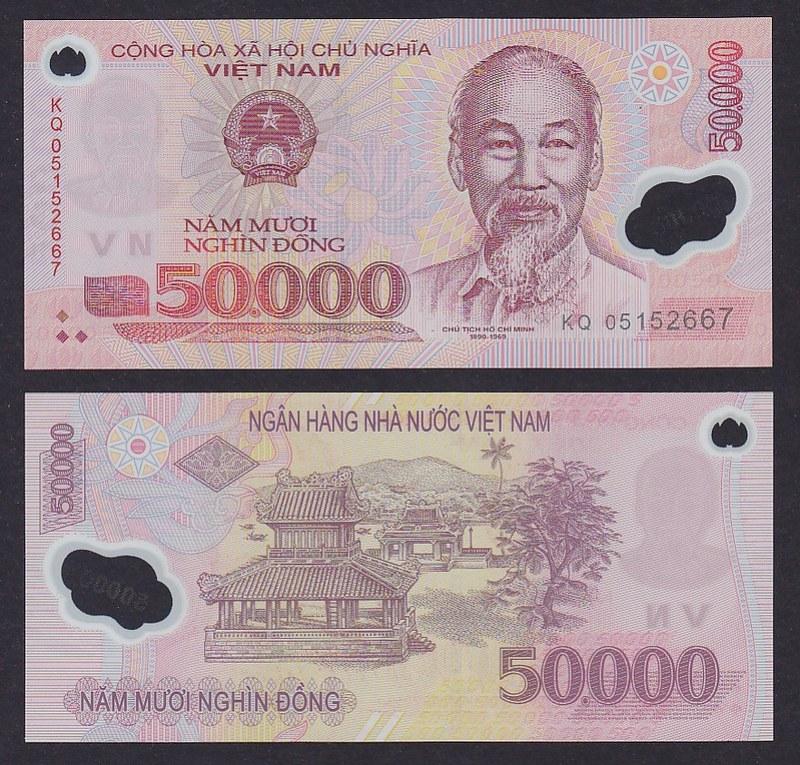 VietNam_50000_ Dong_2005_S_p121a _ UNC_2131