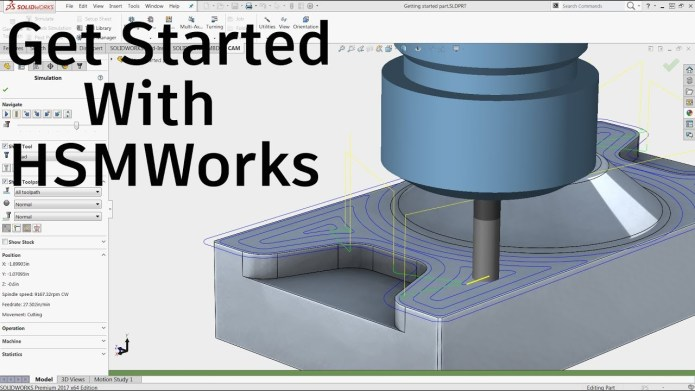 Programming with Autodesk HSMWorks Ultimate 2020 x64 for solidworks