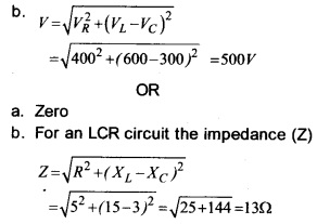 Plus Two Physics Chapter Wise Previous Questions Chapter 7 Alternating Current 5