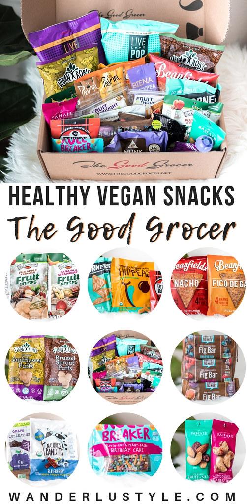 The Good Grocer - Healthy Vegan Snacks | Wanderlustyle.com