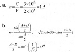 Plus Two Physics Chapter Wise Previous Questions Chapter 9 Ray Optics and Optical Instruments 2