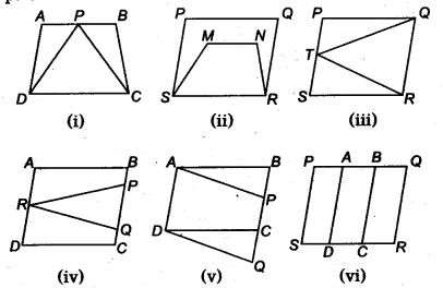 NCERT Solutions for Class 9 Maths Areas of Parallelograms and Triangles Ex 9.1 Q1