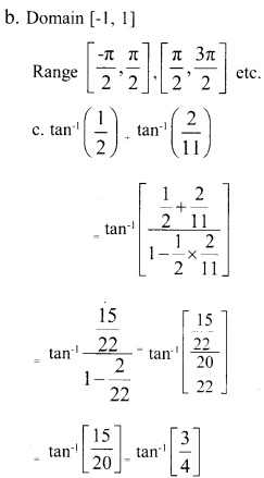 Plus Two Maths Chapter Wise Previous Questions Chapter 2 Inverse Trigonometric Functions 1
