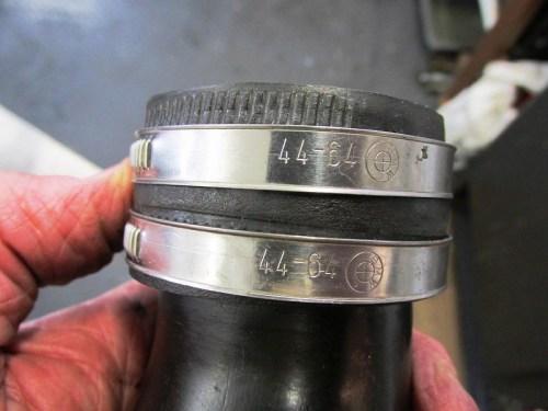 Air Intake to Air Box, Straps Detail