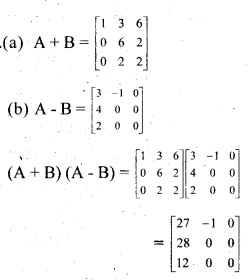 Plus Two Maths Chapter Wise Previous Questions Chapter 3 Matrices 13