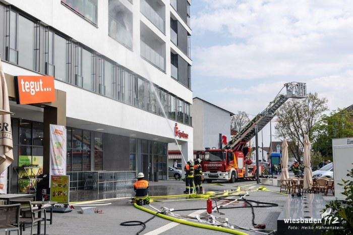 Balkonbrand Kelsterbach 16.04.19