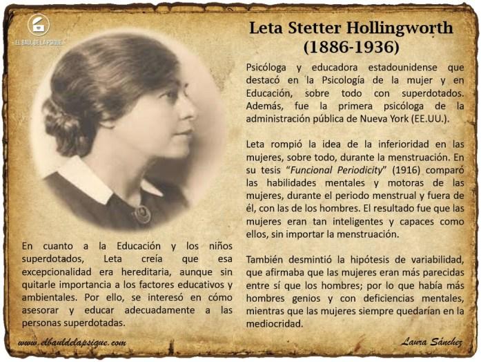 Leta Stetter Hollingworth