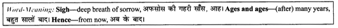 NCERT Solutions For Class 9 English Literature Chapter 7 The Road Not Taken 7