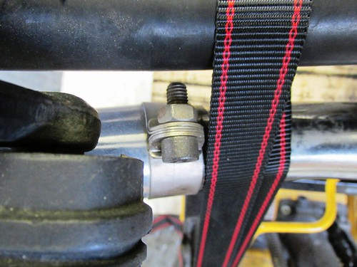 Muffler-to-Header Clamp Detail