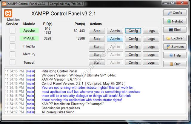 10 Xampp Install