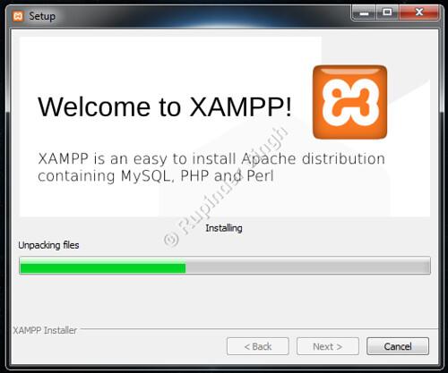 6 Xampp Install